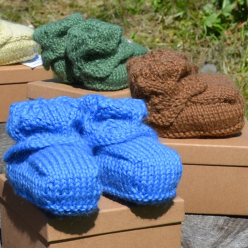 Norfolk Knits child's bootees
